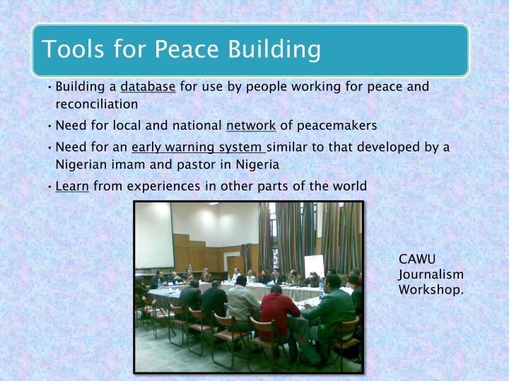 CAWU Journalism Workshop.