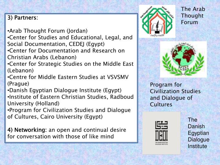 The Arab Thought Forum