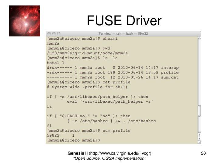 FUSE Driver
