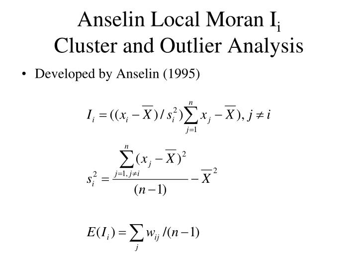 Anselin Local Moran I
