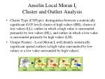 anselin local moran i i cluster and outlier analysis1