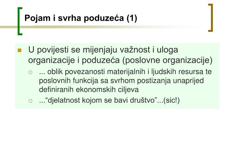 Pojam i svrha poduzeća (1)
