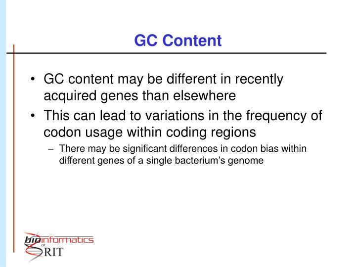 GC Content