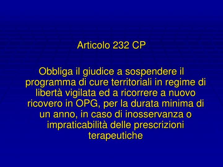 Articolo 232 CP