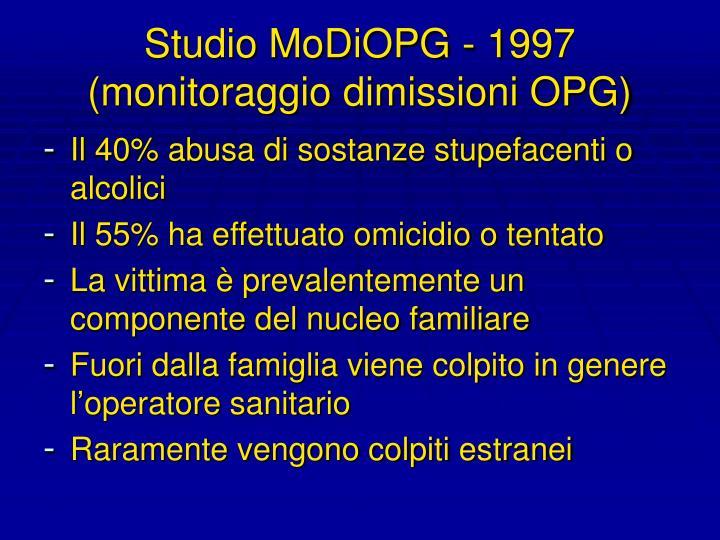 Studio MoDiOPG - 1997