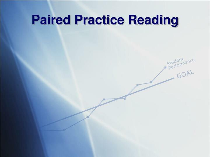 Paired Practice Reading