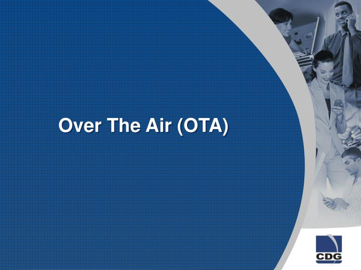 Over the air ota