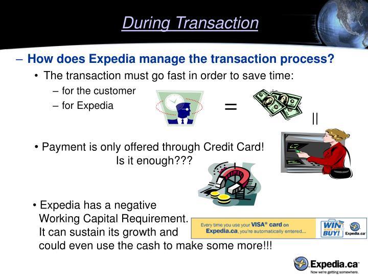 During Transaction