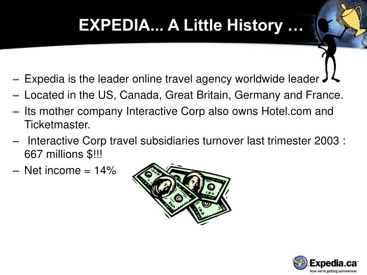 EXPEDIA... A Little History …