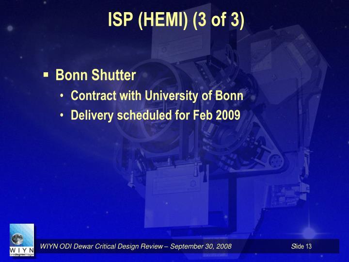ISP (HEMI) (3 of 3)