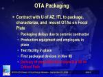 ota packaging