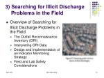 3 searching for illicit discharge problems in the field