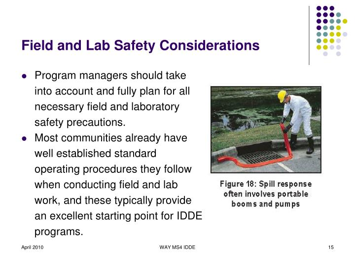 Field and Lab Safety Considerations