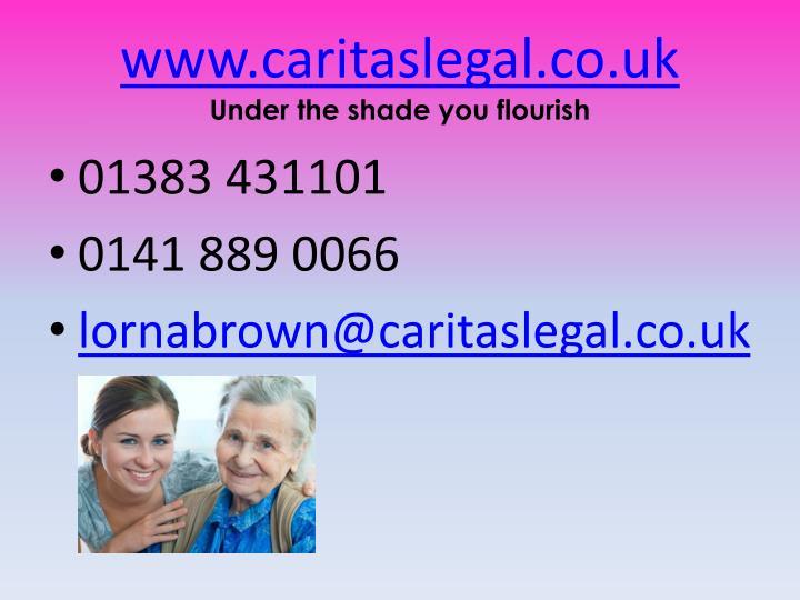 www.caritaslegal.co.uk