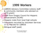 1999 workers