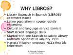 why libros