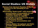 social studies us history