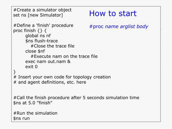 #Create a simulator object