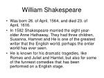 william shakespeare1