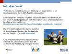 initiative vera