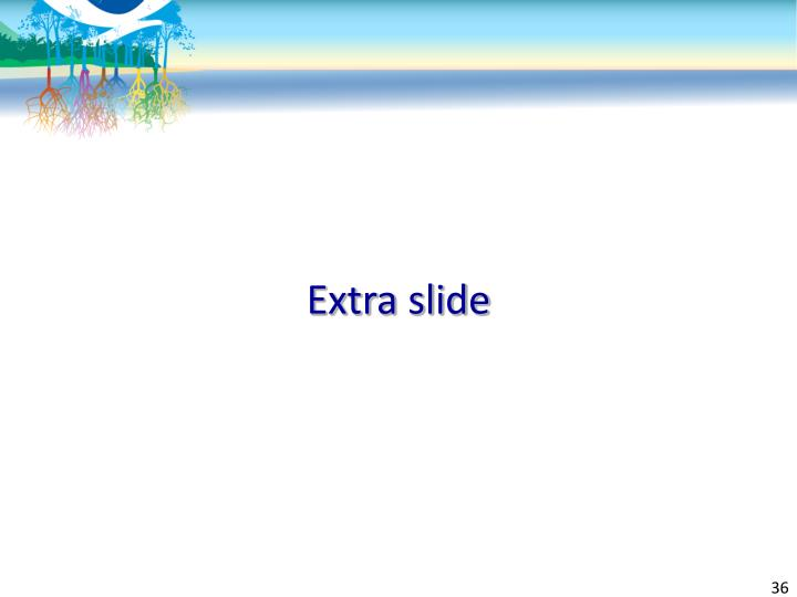 Extra slide
