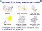 hydrologic forecasting a multi scale problem