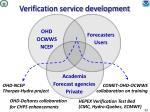 verification service development