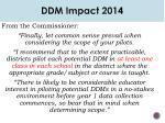 ddm impact 20141