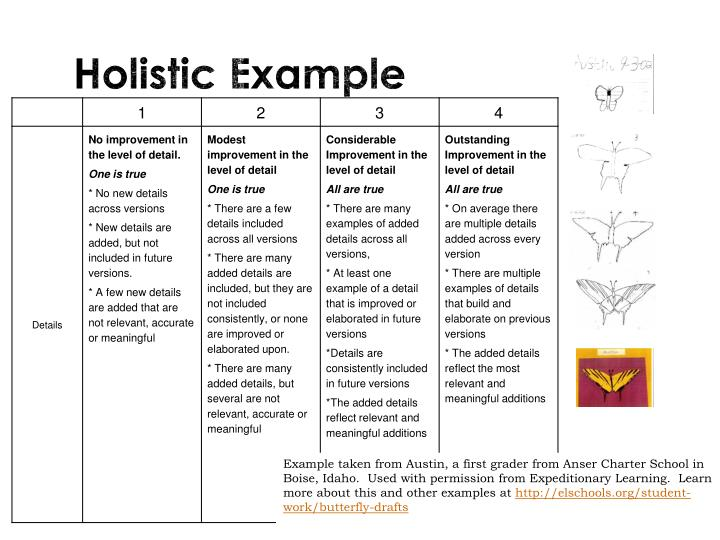 Holistic Example