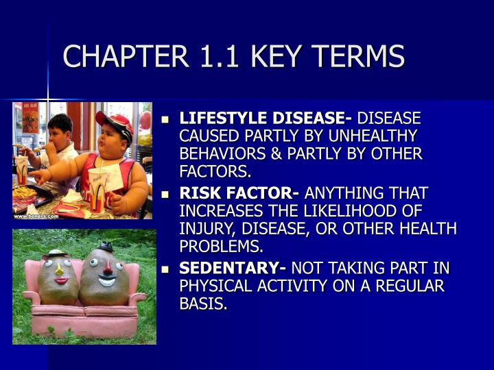 CHAPTER 1.1 KEY TERMS