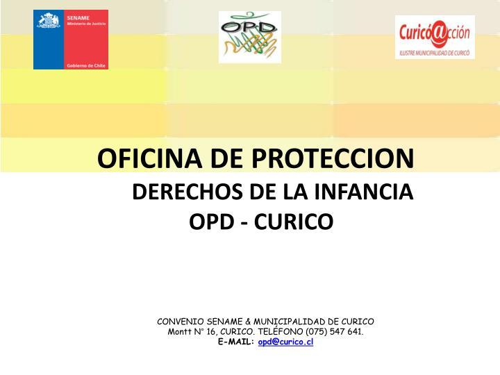 OFICINA DE PROTECCION