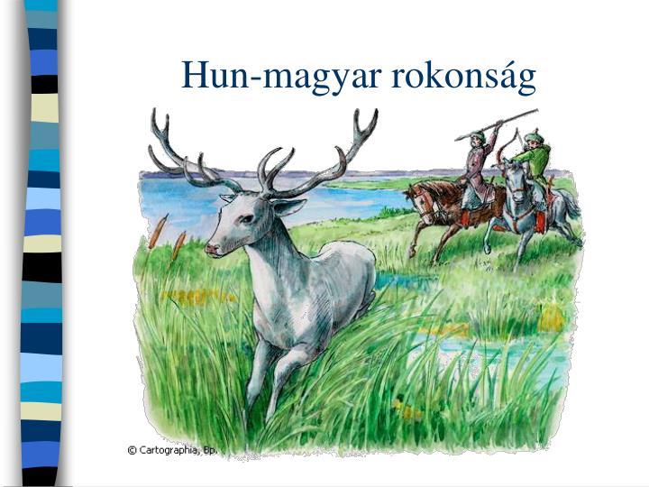Hun-magyar rokonság