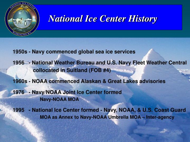 National Ice Center History