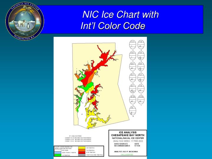 NIC Ice Chart with