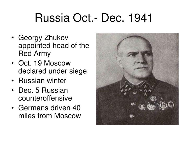 Georgy Zhukov appointed head of the Red Army