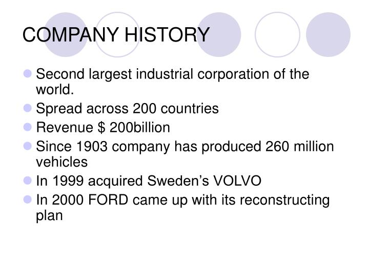 ford company supply chain strategy Surviving supply chain integration: strategies for small manufacturers (2000)   vertically integrated corporation, although the independent companies in the  chain are bound  the model-t ford, for example, was competitive for many  years.