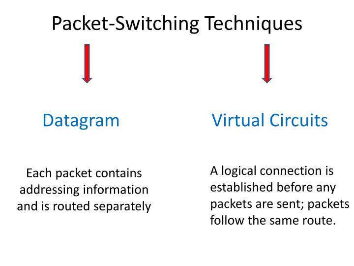 Packet-Switching Techniques