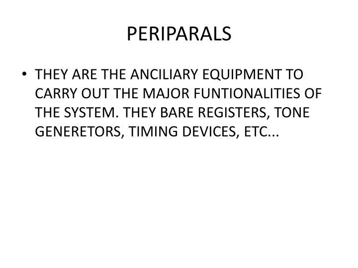 PERIPARALS