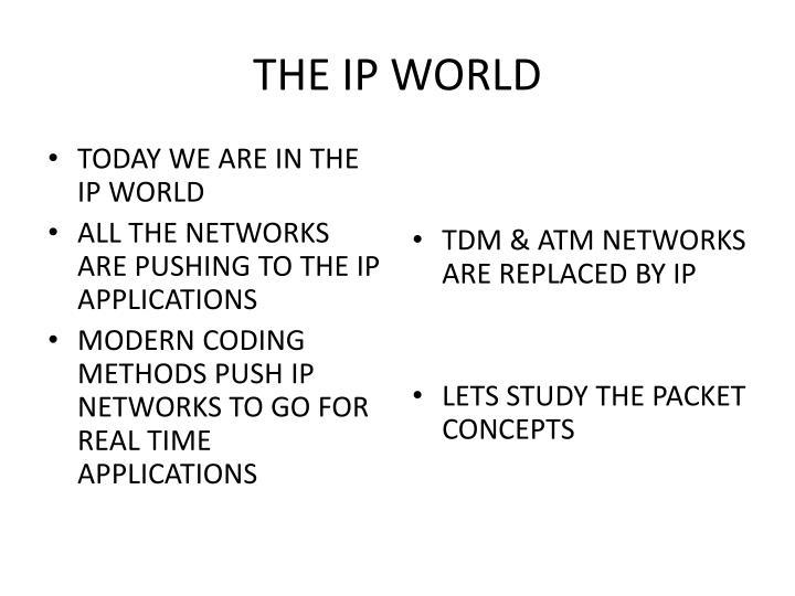 THE IP WORLD