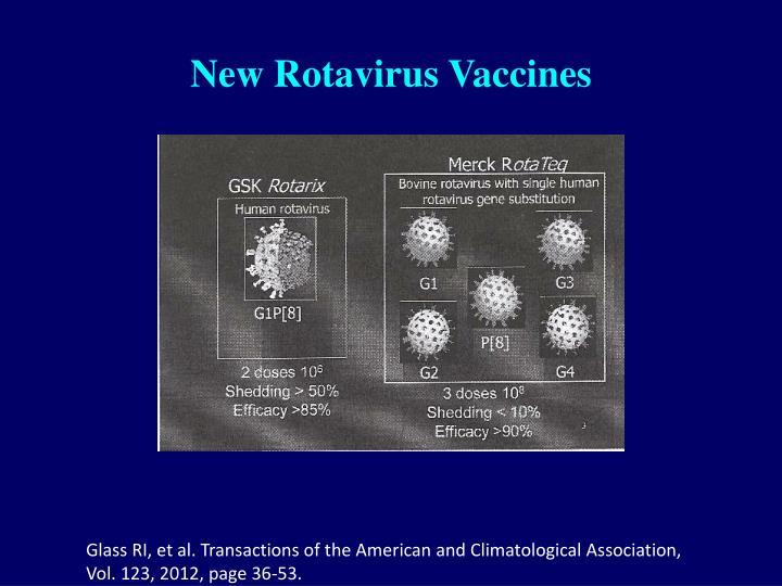 New Rotavirus Vaccines