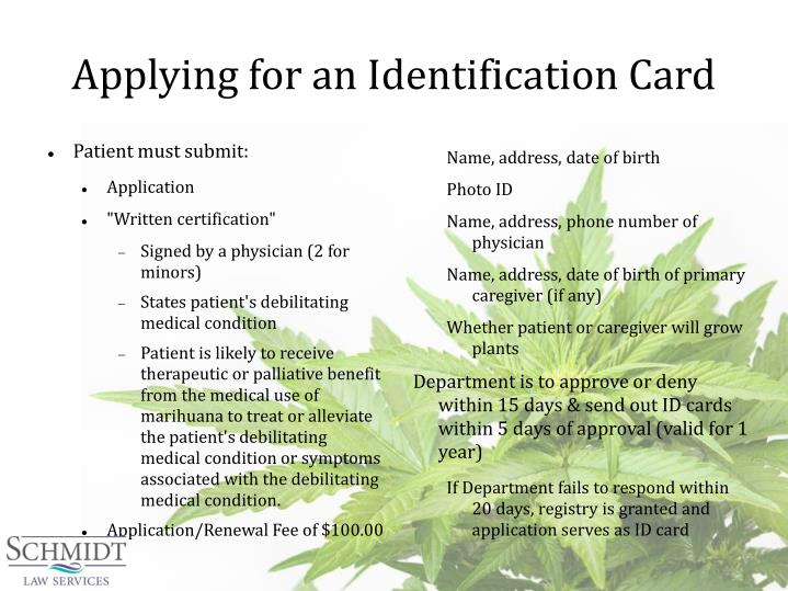 Applying for an Identification Card