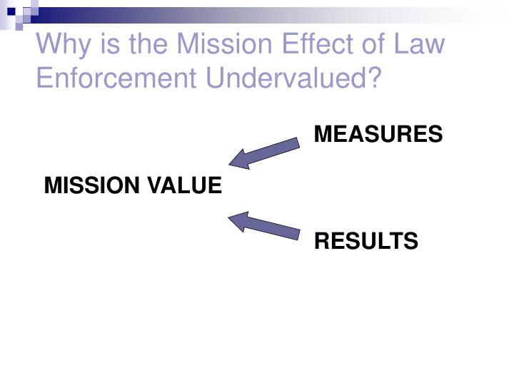 Why is the Mission Effect of Law