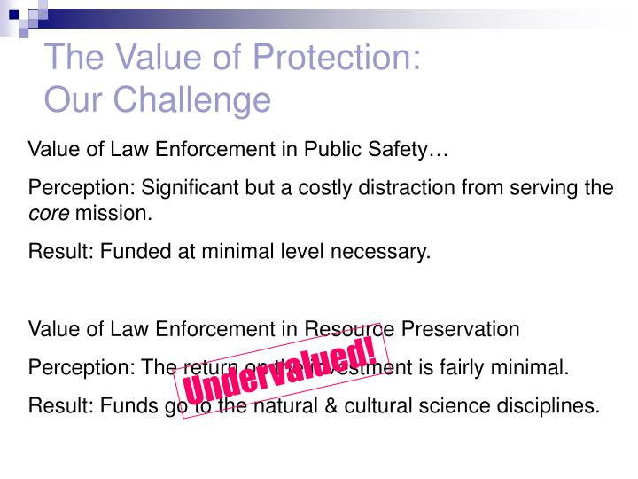 The Value of Protection:
