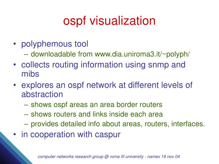 ospf visualization