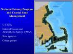 national estuary program and coastal zone management