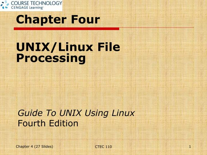 guide to unix using linux fourth edition