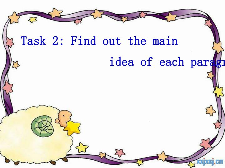Task 2: Find out the main