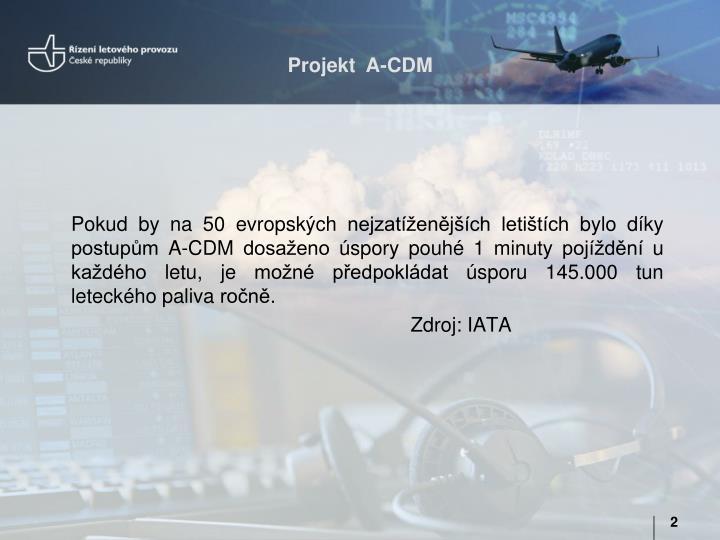 Projekt  A-CDM