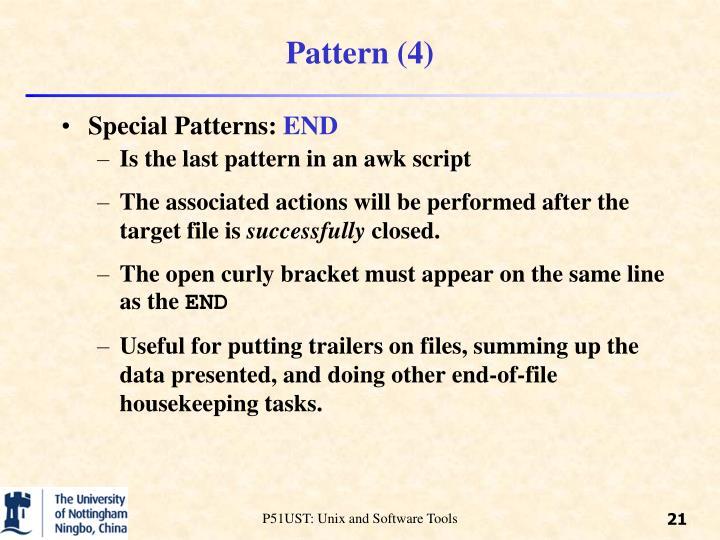 Pattern (4)