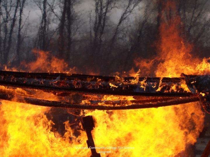 Dutchess Community College Fire Science program